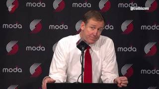 Stotts Takes Questions After Friday's Loss to the Spurs