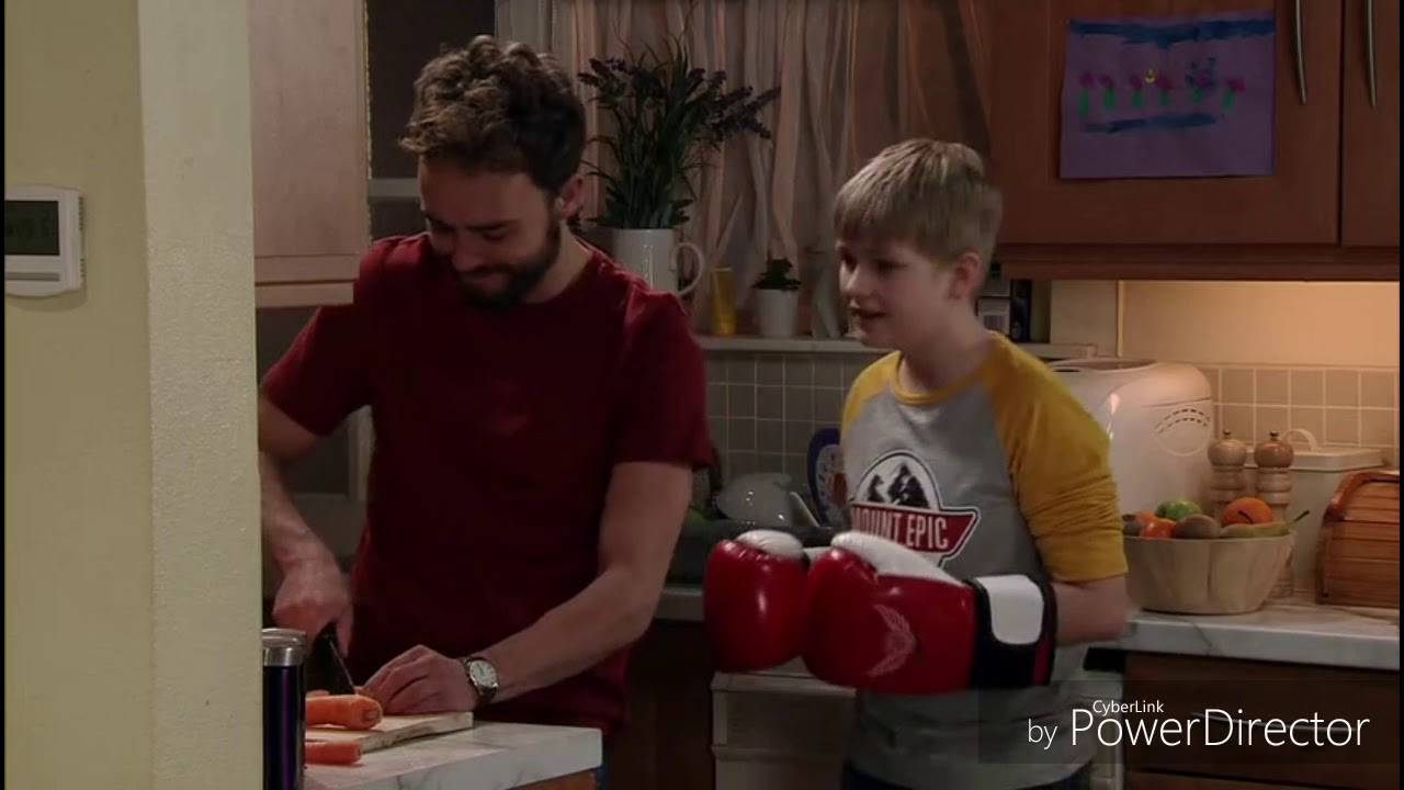 Coronation Street - David Takes His Anger On Max (19th March 2018)