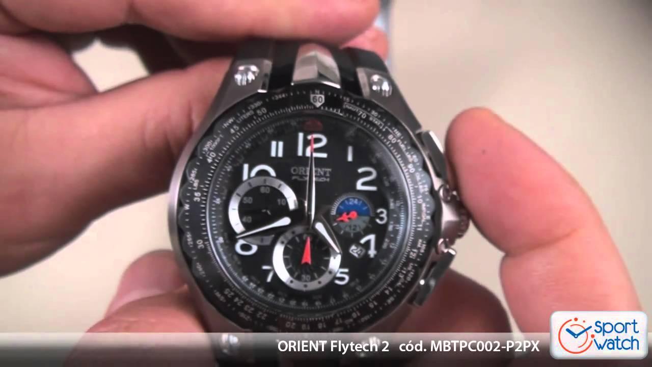 595457d0ade ORIENT FLYTECH MBTPC002-P2PX - YouTube