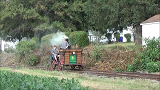 Steam Speeder on the Walkersville Southern