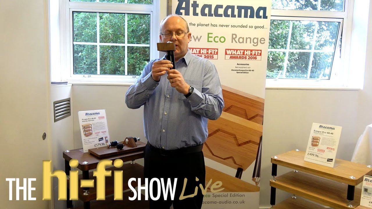 Atacama Hifi Rack Review Atacama Apollo Hifi Racks Speaker Stands Chat About The Technologies Used Hi Fi Show Live 2017