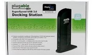 Plugable USB 3.0 Docking Station Review