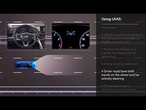 Lane Keeping Assist System >> How To Use The Lane Keeping Assist System Lkas On The 2018 Honda Accord