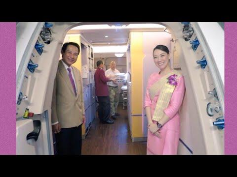 Boarding and deplaning Thai Airways A380.A330.A320.B744.B773.B77W.B787 タイ国際航空 搭乗、降機