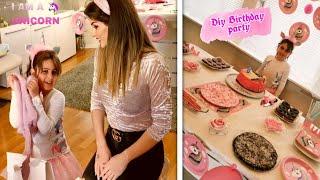 تجهيزات لحفل عيد ميلاد بطريقة لاتخطر على البال | أفكار تنسيق الحفلات بدون اي تكلفة | حلويات سهلة|DIY