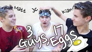 3 Guys, 17 Eggs | Jc, Kian & Matt Thumbnail