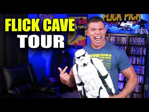 Theater Room FLICK CAVE Tour!