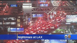 First Sunday Under New LAX Rideshare System A Nightmare For Travelers