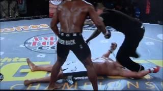 Larry Crowe KO's Ike Villanueva with a Headkick