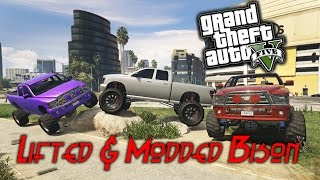 GTA 5 PC Lifted & Modded Bison