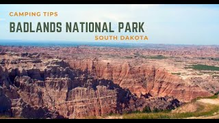 Camping Tips for BadĮands National Park in South Dakota