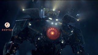 美国科幻片《环太平洋1》,机甲动画变真人版,好莱坞特效加持