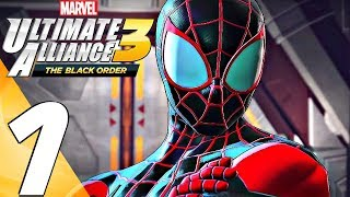 Marvel Ultimate Alliance 3 - Gameplay Walkthrough Part 1 - Story Mode (Full Game) Switch