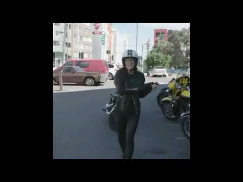Danielle Cormack  Harley Davidson