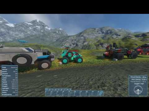 [SPACE ENGINEERS] Live Stream - Off Road Race!