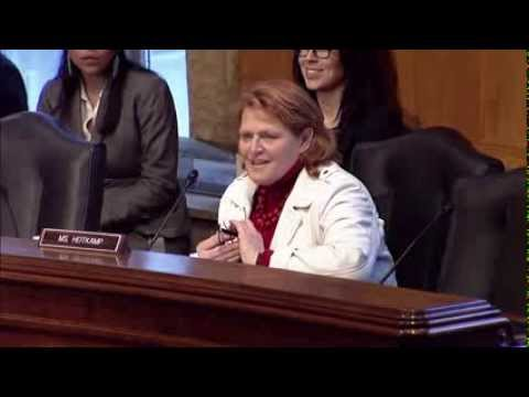 Heitkamp Gives Opening Statement at Senate Indian Affairs Committee