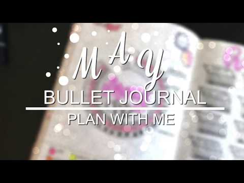 PLAN WITH ME | May 2018 | Bullet Journal