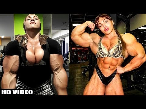 TOP 10 Woman Bodybuilders in The World 2017