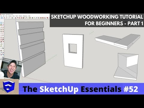 SketchUp Woodworking Tutorial for Beginners – Part 1
