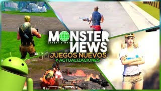 FORTNITE, AXE. IO, FREE FIRE, FORTCRAFT, PUBG MOBILE - NOTICIAS JUEGOS ANDROID iOS