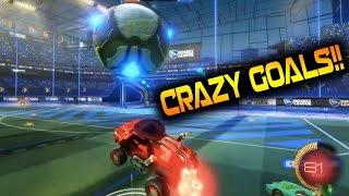 SO MANY CRAZY GOALS!! Rocket League 1v1's (Competitive)