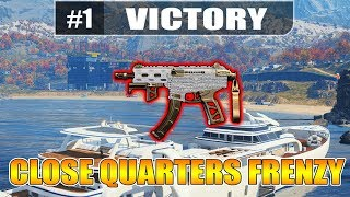 NEW CLOSE QUARTERS FRENZY // 607 Blackout Wins!! // PS4 Gameplay // Aggressive Squads