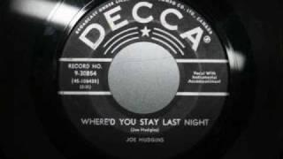 Joe Hudgins - Where