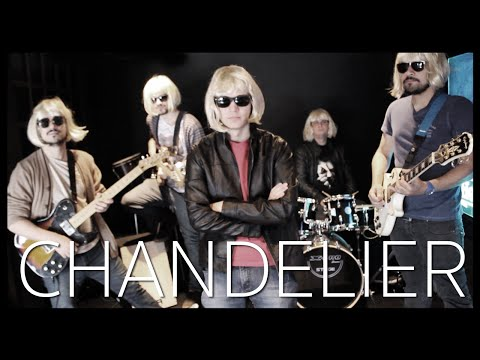 Pouring Pix - Chandelier (Sia Rock Cover)
