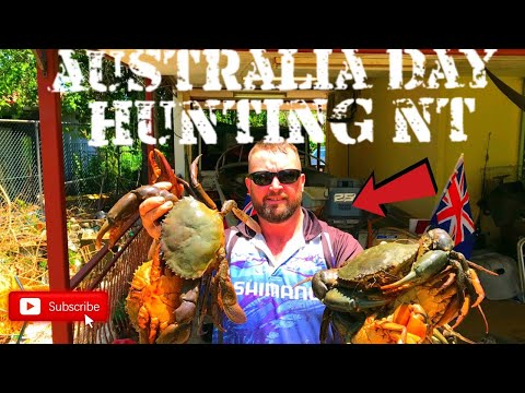 GIANT MUD CRABS AND BARRAMUNDI CATCH N COOK