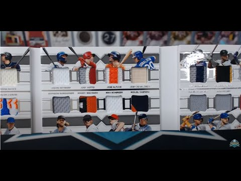 2018 Panini National Treasures Baseball 4 Box Case Break #21