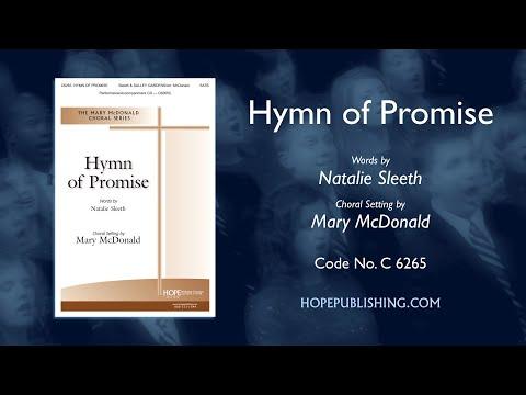 Hymn Of Promise - Arr. Mary McDonald