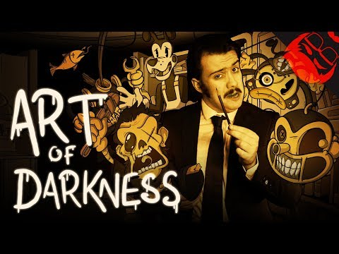 ART OF DARKNESS  | Animated Bendy And The Ink Machine Song!