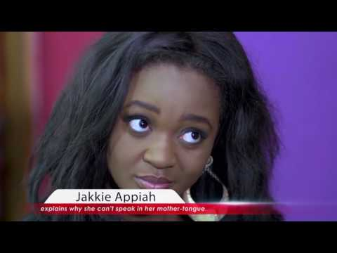 Jackie Appiah explains why she can't speak in her mother tongue.