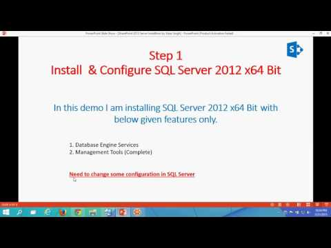 SharePoint 2013 Server Installation Step By Step Full