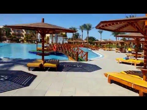Обзор территории отеля Desert Rose Resort 5* (Хургада, Египет)