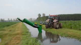 New Modern Technoloy of Agriculture Machines Water wheel pump