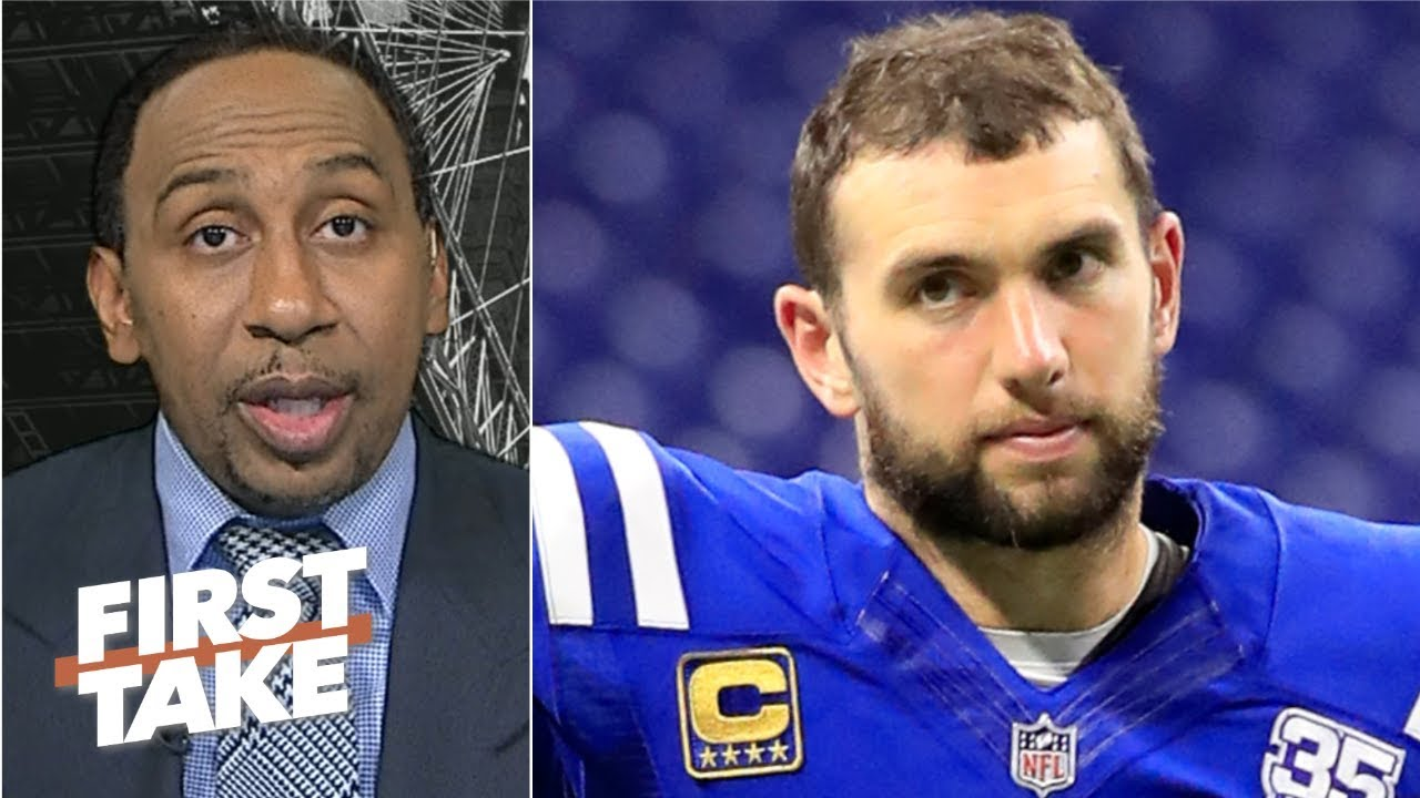 Andrew Luck has enough weapons on the Colts' offense to succeed – Stephen A. | First Take