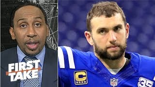 Andrew Luck has enough offensive weapons to succeed – Stephen A. | First Take
