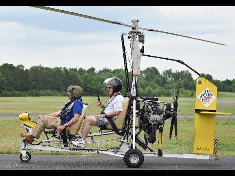 Snobird Gyrocopter low level flying (6:30 mark)