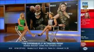 Ronda Rousey Ice Buck Challenge (ft. Charissa Thompson, Molly McGrath)