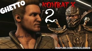 GHETTO KOMBAT X episode 2: Breakfast time!