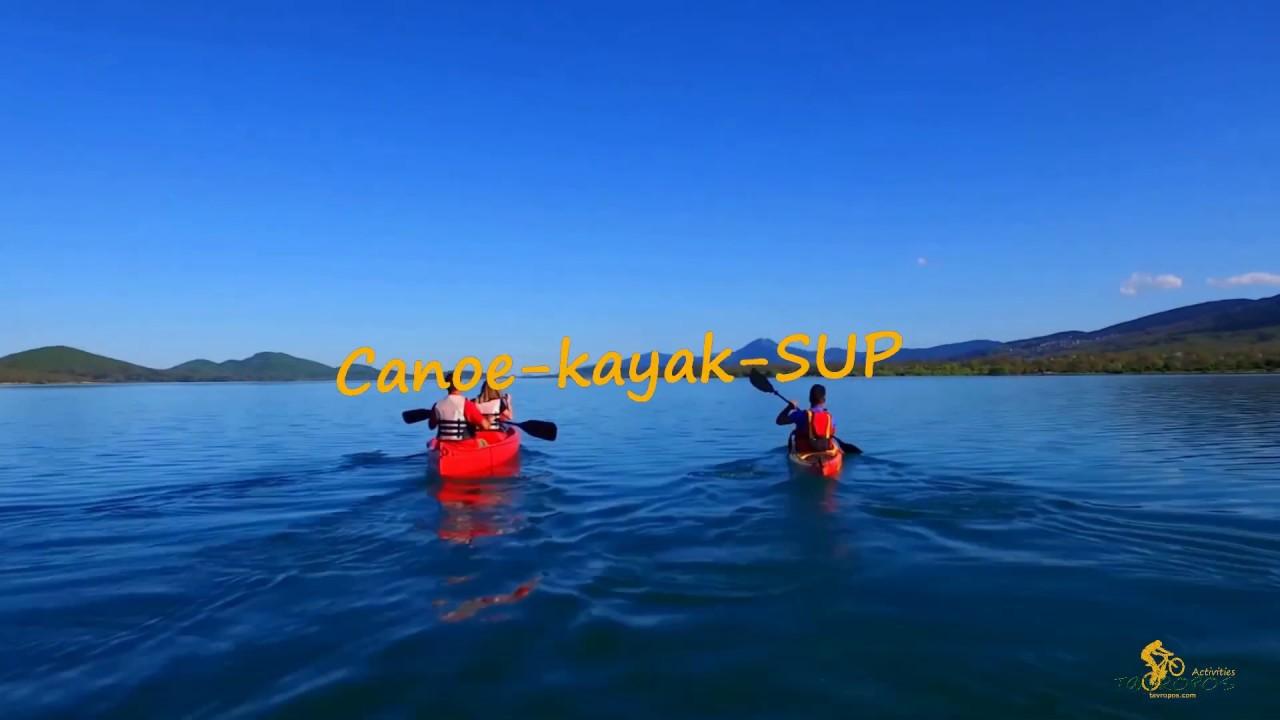 Οι δραστηριότητες του Tavropos activities στη λίμνη Πλαστήρα!
