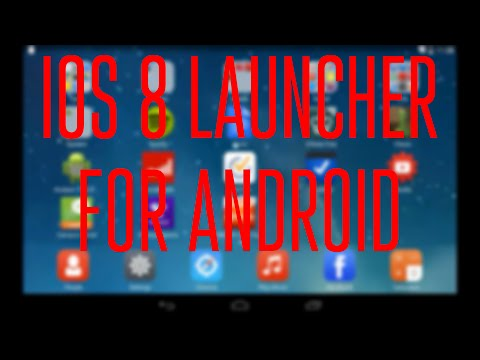 IOS 7/8 Launcher For Android Review!