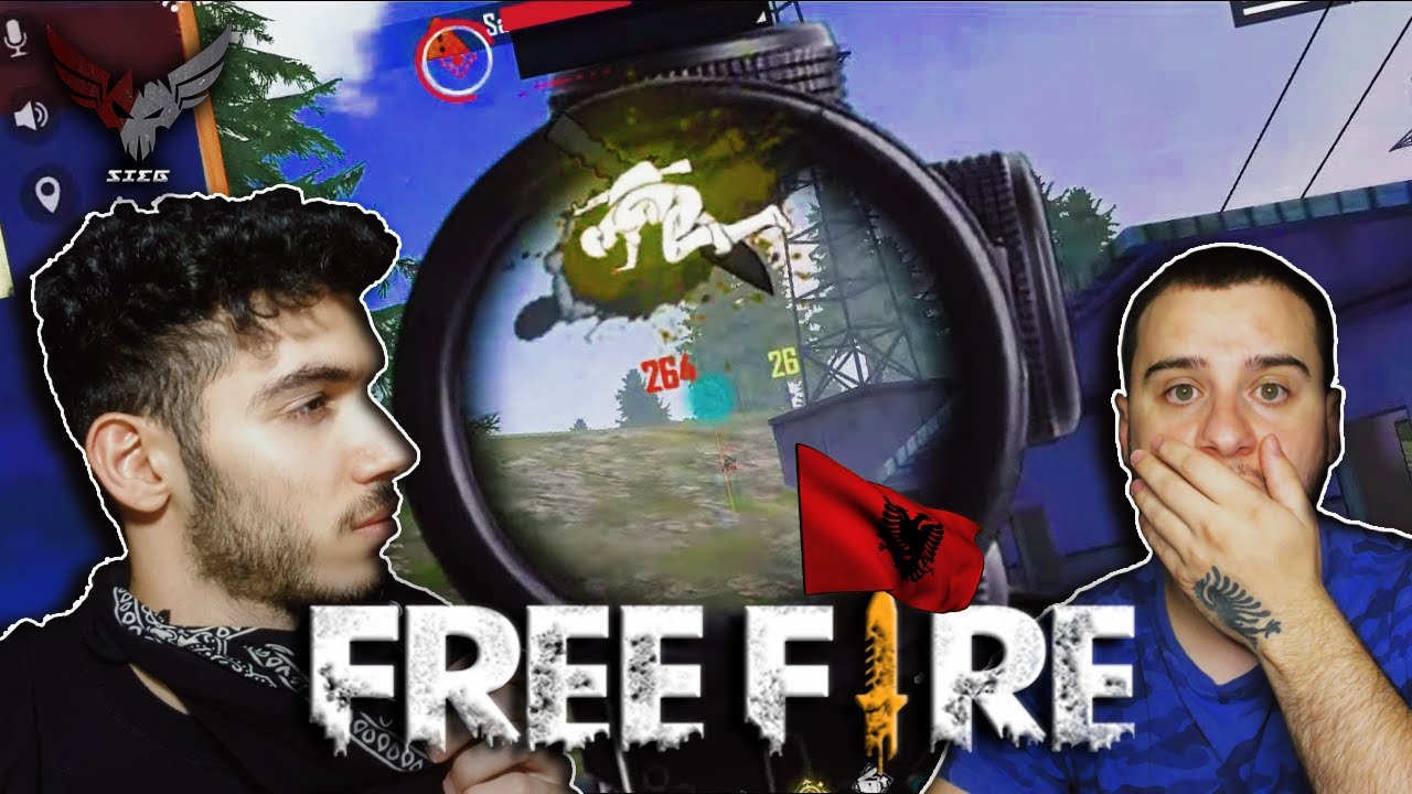 FREE FIRE ME YOUTUBERIN SHQIPTAR 🇦🇱 @TILAGaming | SIEG