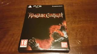 Unboxing e pareri su : Knights Contract PS3
