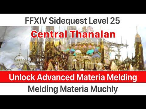 ✅ FFXIV Unlock Advanced Materia Melding - Melding Materia