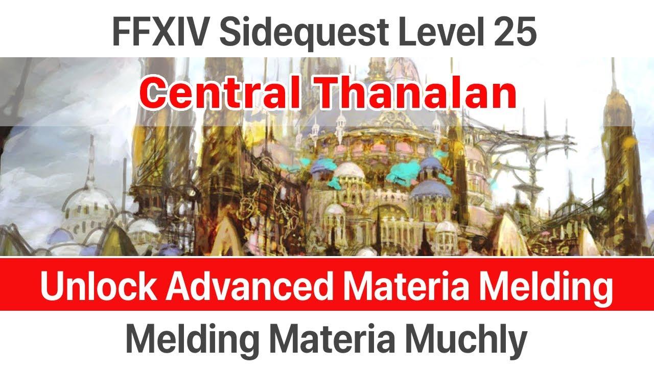 ✅ FFXIV Unlock Advanced Materia Melding - Melding Materia Muchly