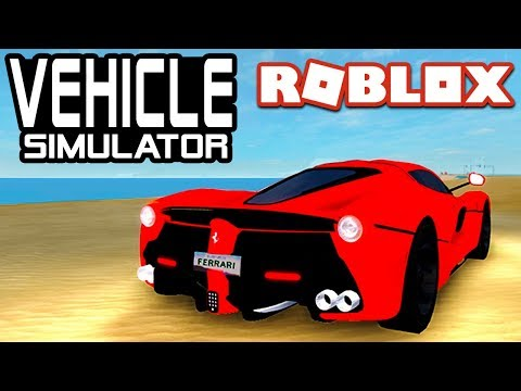 FASTEST FERRARI in Vehicle Simulator! | Roblox
