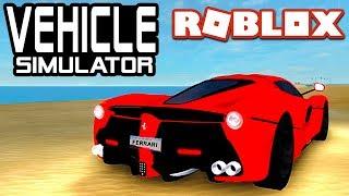 FASTEST FERRARI in Vehicle Simulator! | Roblox