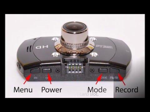 K&F Concept (Novatek NT96650) Car Dash Cam - Review
